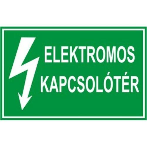 Elektromos kapcsolótér