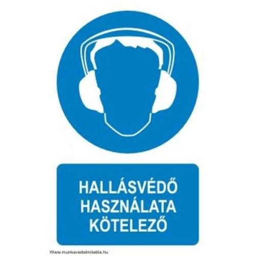 Hallásvédő használata kötelező