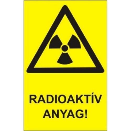 Radioaktív anyag!