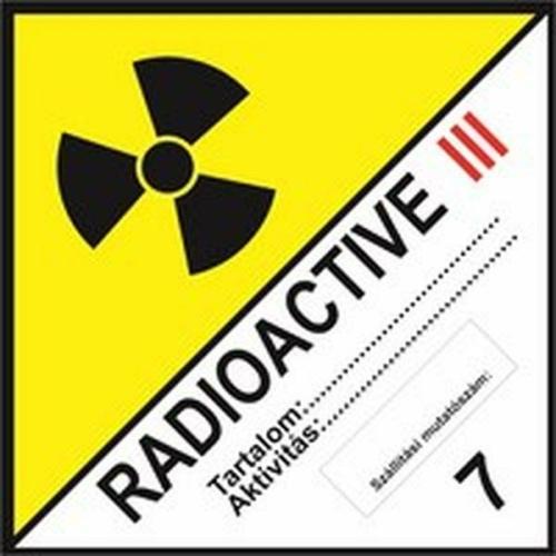 Radioactive III 7 osztály