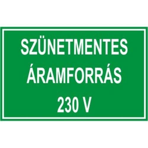 Szünetmentes áramforrás 230V