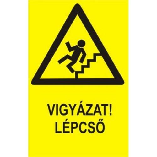 Vigyázat Lépcső!