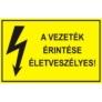 Kép 5/6 - A vezeték érintése tilos és életveszélyes!