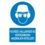 Kép 4/4 - Fejvédő hallásvédő és védőszemüveg használata kötelező!